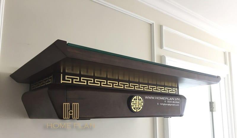 bàn thờ treo tường hiện đại Nghinh Lộc