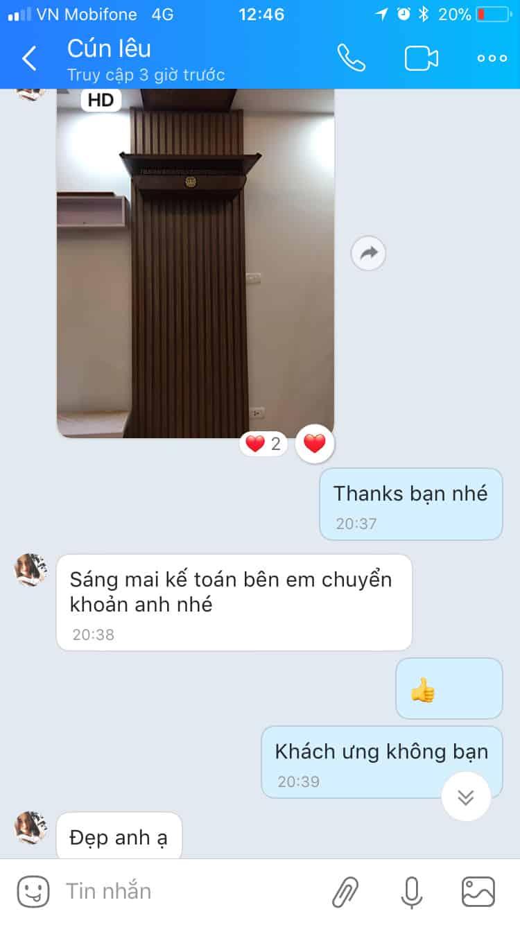 Review Ban Tho Treo Tuong Kts Cun Leu