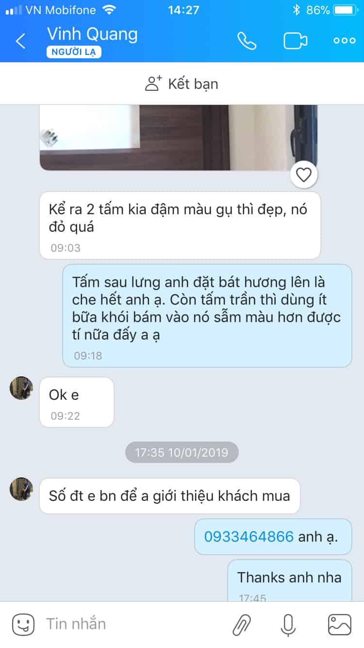 Review Ban Tho Treo Tuong Anh Quang Vinh