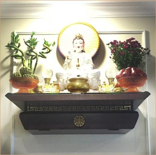 Mua bàn thờ treo tường cao cấp ở đâu Hà Nội