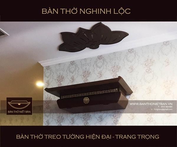 Thờ cúng là một nét đẹp trong văn hóa của người Việt và bàn thờ là sự hiện diện cho nét đẹp văn hóa đó