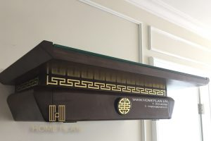 bàn thờ hiện đại treo tường Nghinh Lộc